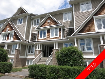 Orleans 2 Storey Row Unit for sale: by Minto 2 bedroom  (Listed 2016-07-15)